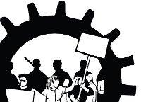 Protest sklaiert